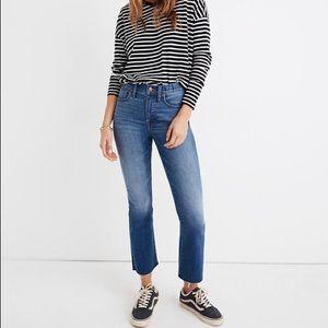 MADEWELL Cali Demi Boot Jeans Back SeamNWT Size 26